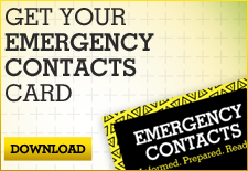 Emergency Contacts Card