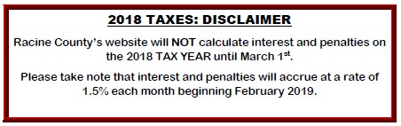 DISCLAIMER 2019 TAX BILL INCORRECT CALUCATIONS