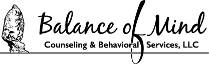 Balance of Mind B&W Logo